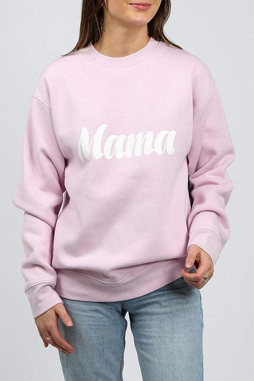 Brunette The Label Mama Sweater Lavender