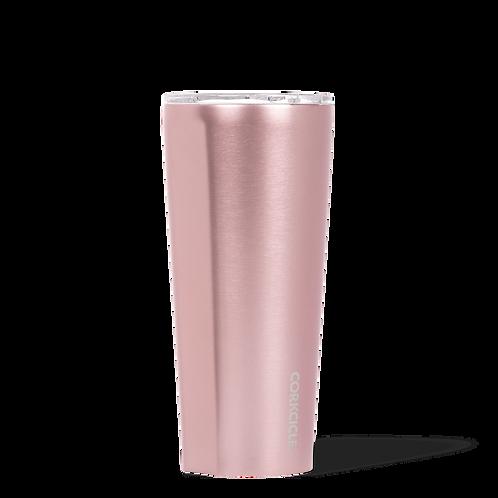 Corkcicle 24oz Rose Metallic Tumbler