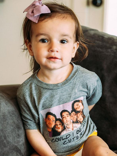 Friday + Saturday Could I Be Any Cuter Toddler Tee
