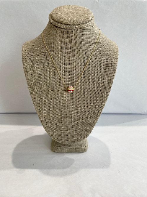 Jocelyn Kennedy Small Evil Eye Necklace
