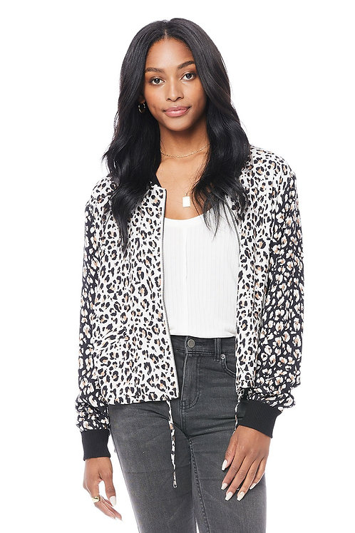 Saltwater Luxe: Solitaire Long Sleeve Bomber