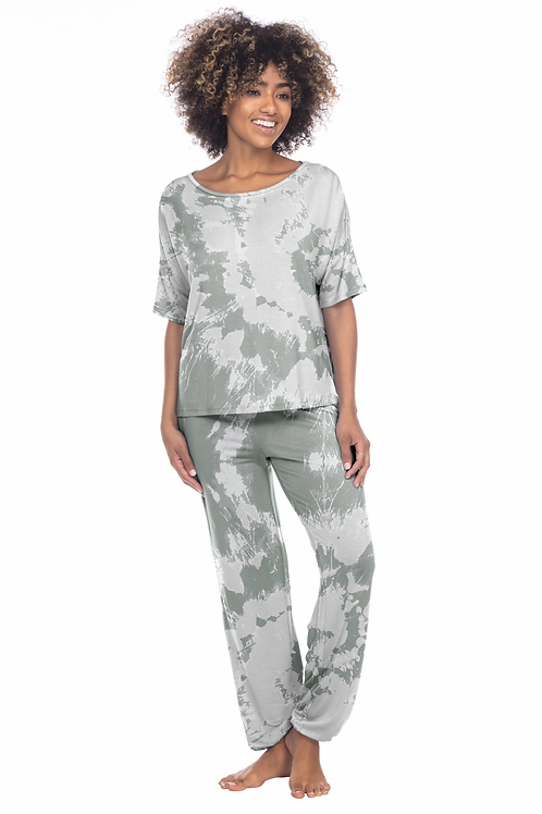 Honeydew Sun Lover Lounge Grey Tie Dye