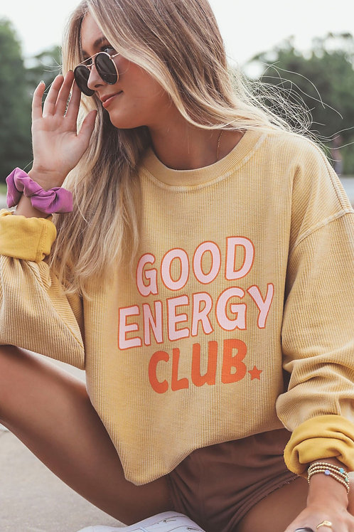 Friday + Saturday Corded Sweater - Good Energy Club