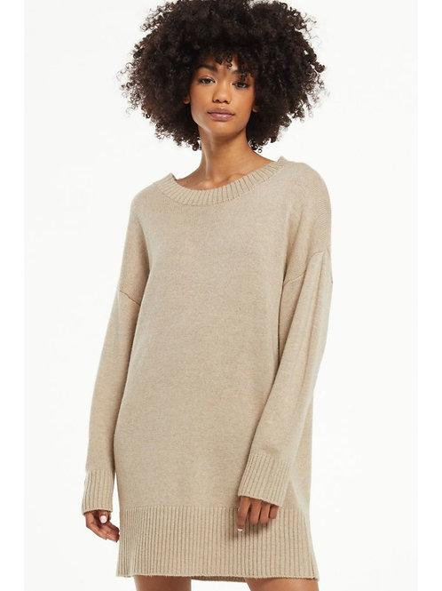 Z Supply Baldwin Sweater Dress- Oatmeal
