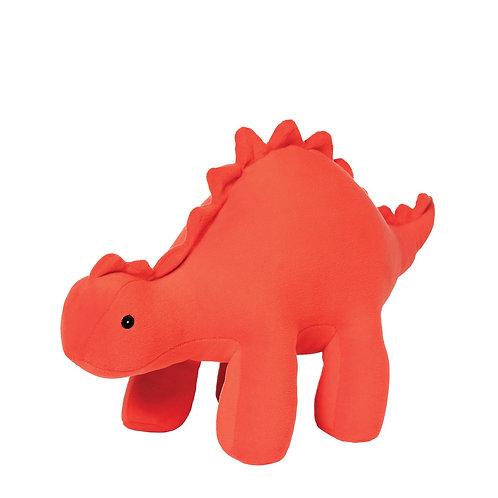 Manhattan Toys Velveteen Dino Gummy Stegosaurus