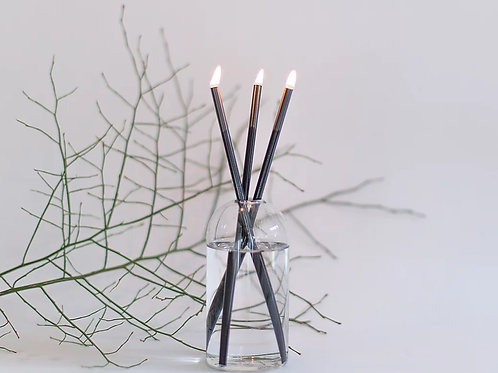 Everlasting Candle Set Black
