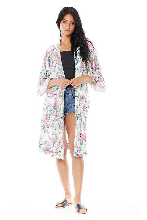 Saltwater Luxe: Polly Kimono Vanilla