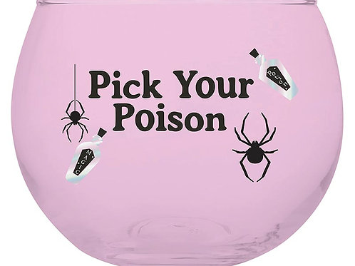Pick Your Poison Roly Poly Glass