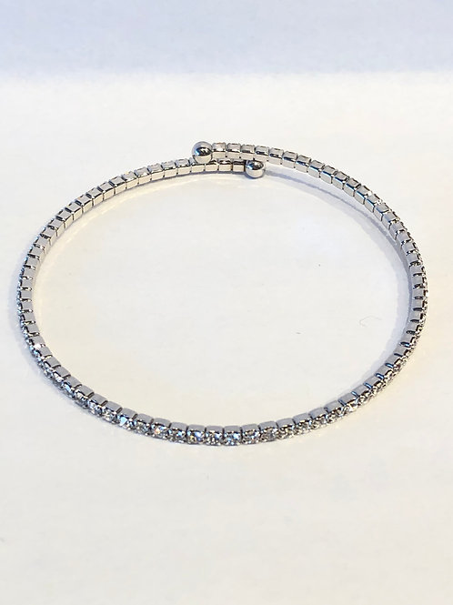 Jocelyn Kennedy Thin Crystal Bangle