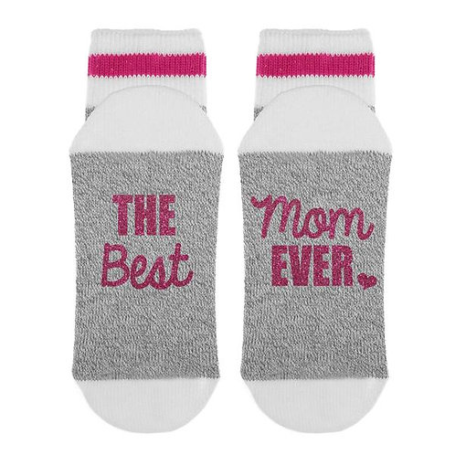 The Best Mom Ever Knit Socks