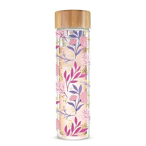 Pinky Up Blair Botanical Bliss Glass Travel Infuser Mug