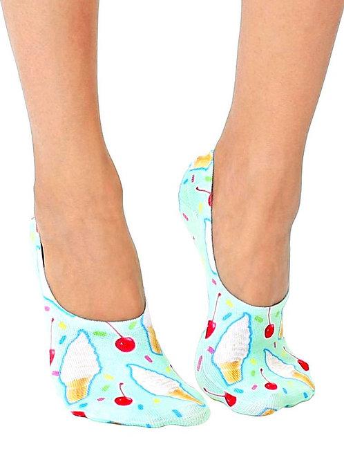 Living Royal Rainbow Ice Cream Liner Socks