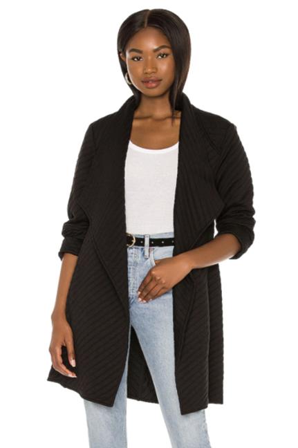 BB Dakota Soft Landing Coat Black
