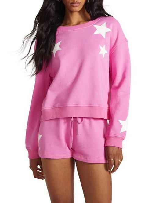 BB Dakota Five Star Sweatshirt Pink
