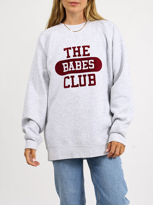 Brunette The Label The Babes Club College Big Sister Crew