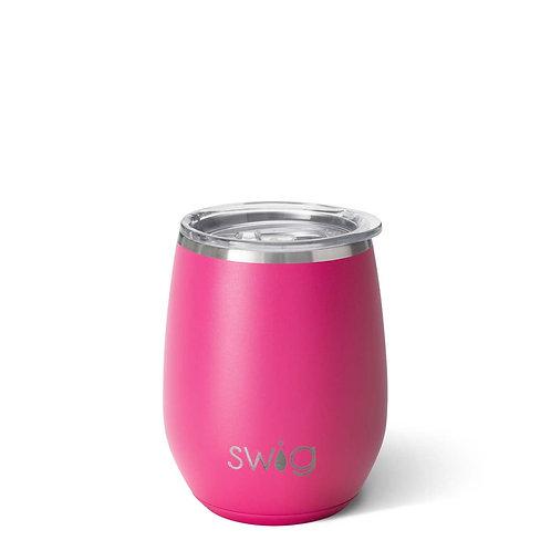 Swig Stemless Matte Hot Pink