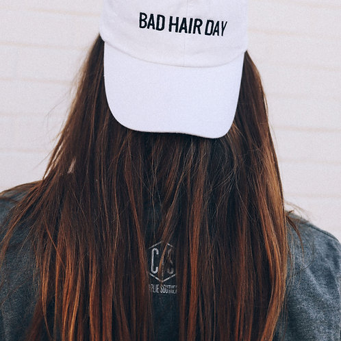 Friday + Saturday: Bad Hair Day Hat