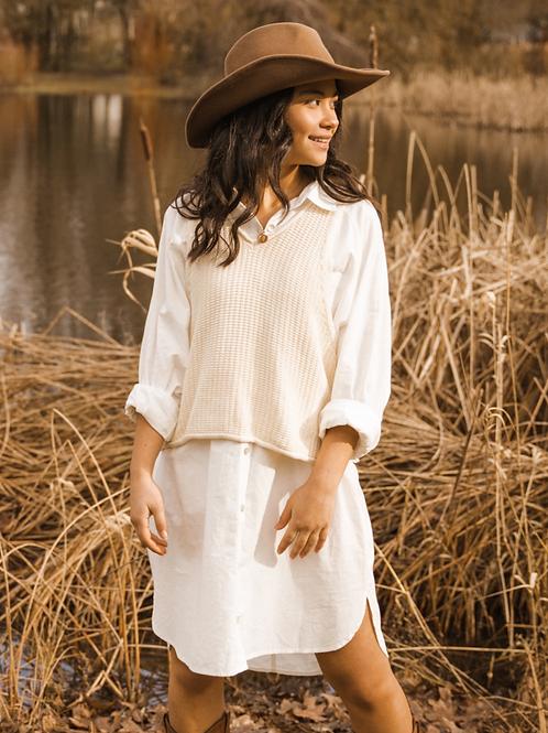 Jackson Rowe Beau Dress White