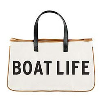 Canvas Tote Boat Life