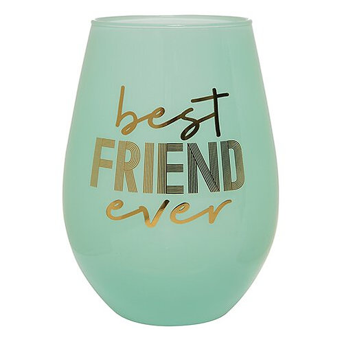 Jumbo Wine Glass- Best Friend Ever