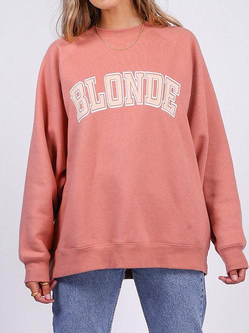 Brunette The Label Blonde Not Your Boyfriends Crew Rose Blush