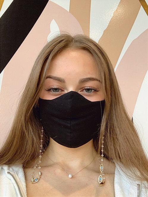Jocelyn Kennedy Mask Chain Evil Eye Gold