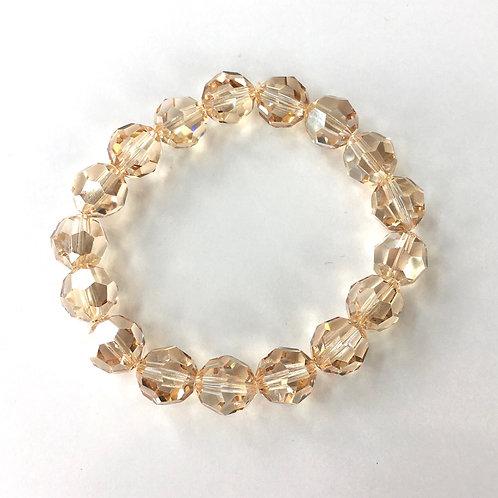 Jocelyn Kennedy Large Golden Shadow Bracelet