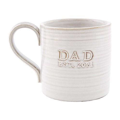 Mudpie Dad Est. 2021 Mug