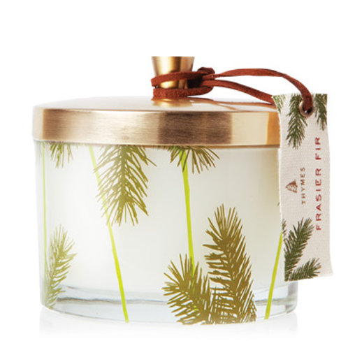 Thymes Frasier Fir Pine Needle 3-Wick Candle