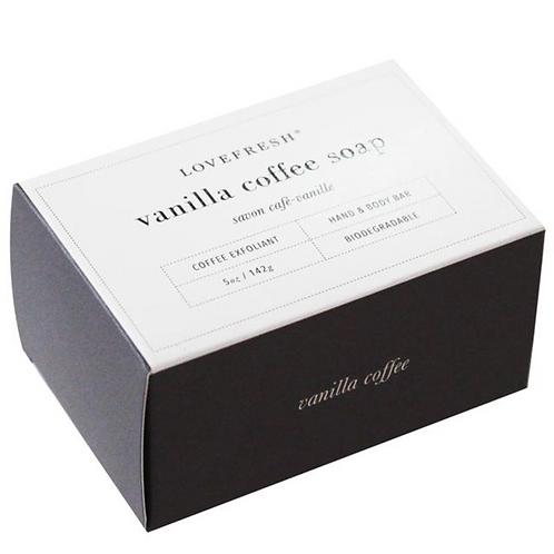 Love Fresh Vanilla Coffee Soap