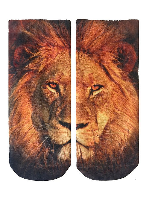 Living Royal Ankle Socks Lion