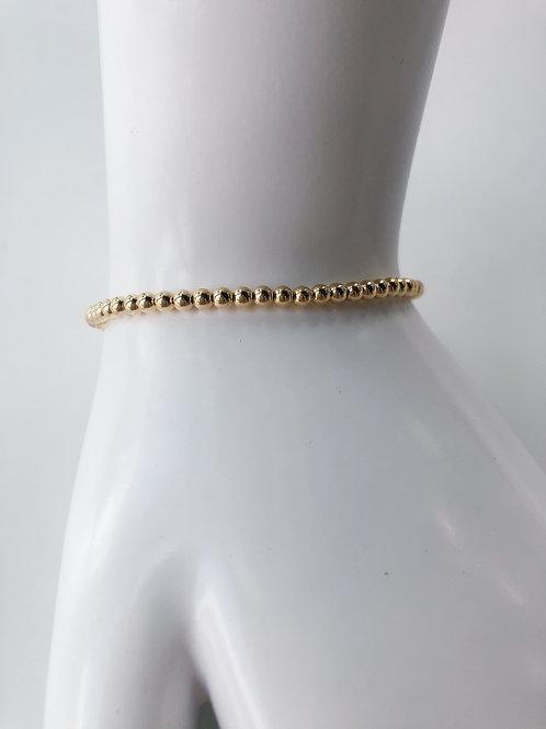 Jocelyn Kennedy Gold Beaded Bracelet