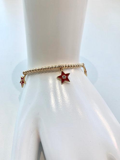 Jocelyn Kennedy Star Charm Bracelet