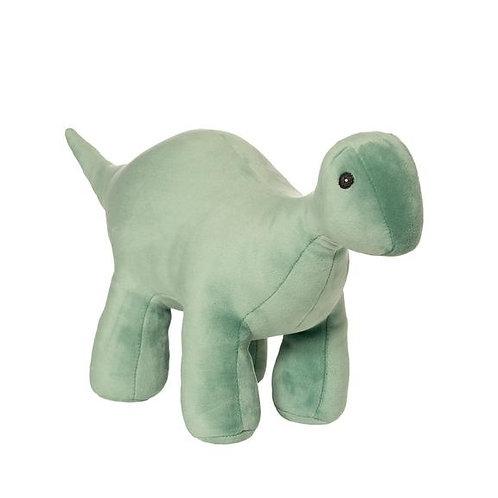 Manhattan Toys Velveteen Dino Stomper Brontosaurus