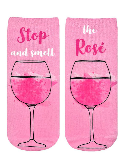 Living Royal Stop and Smell the Rose Ankle Socks