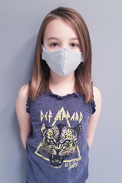 Tessa Glorie Kids Face Mask Light Grey