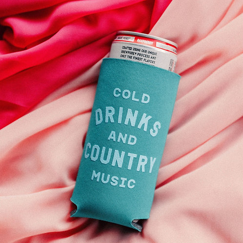 Charlie Southern: Cold Drinks + Country Music Drink Sleeve