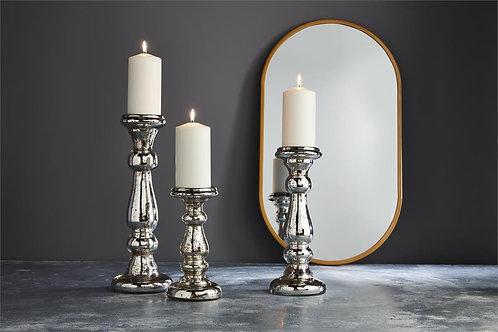 Mudpie Mercury Glass Candle Holders
