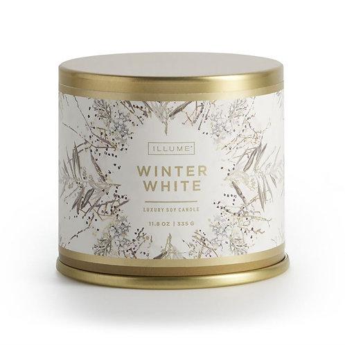 Illume Winter White Large Tin