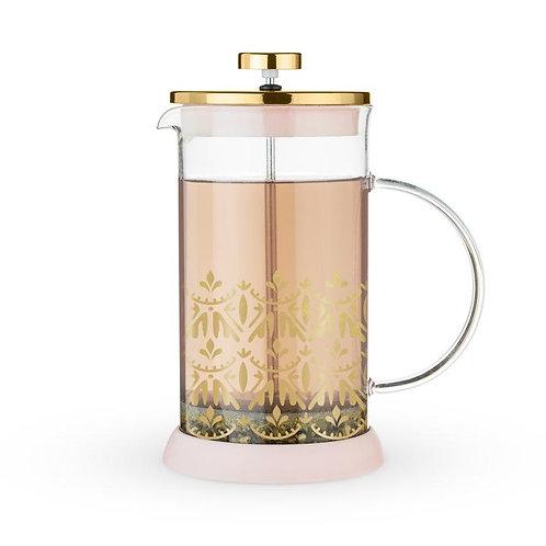 Pinky Up Riley Casablanca Glass Tea Press Pot