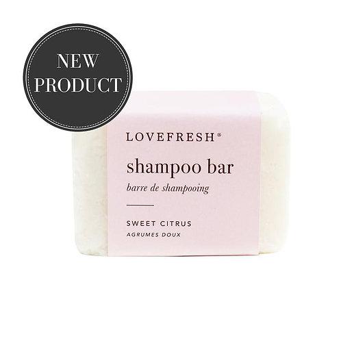 Love Fresh Sweet Citrus Shampoo Bar