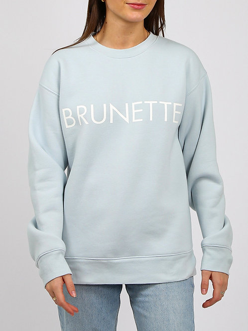 Brunette The Label Brunette Classic Crewneck Sky Blue