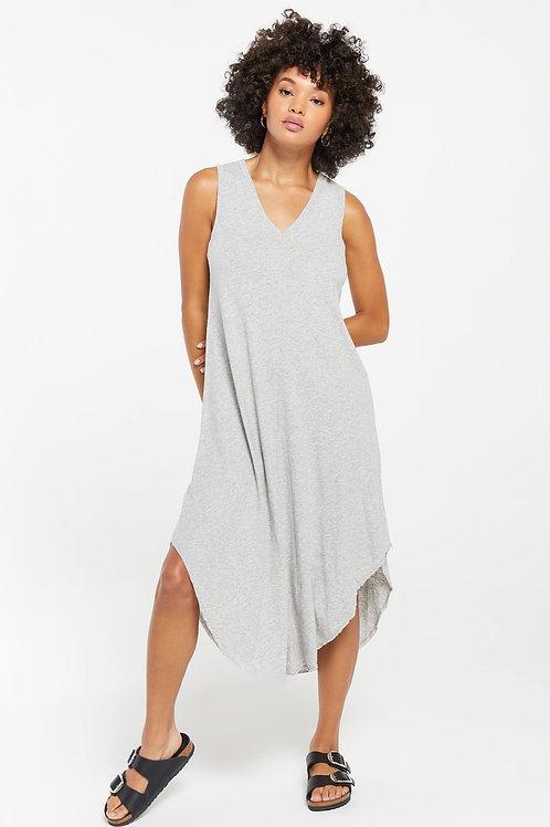 Z Supply The Reverie Dress Heather Grey