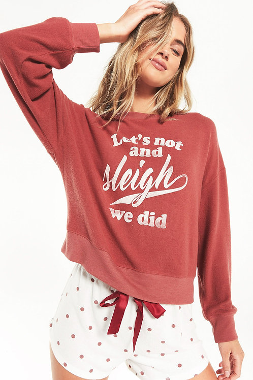 Z Supply Elle Sleigh Sweatshirt