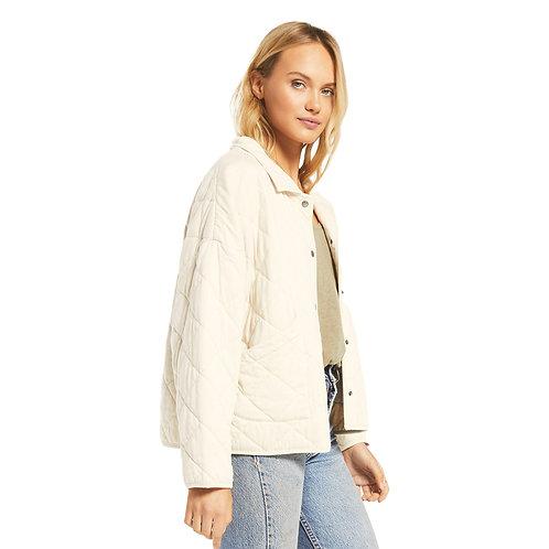 Z Supply Maya Quilted Jacket- Bone