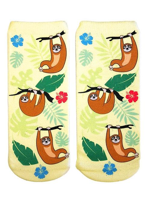 Living Royal Tree Sloth Ankle Socks