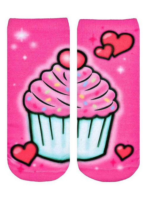 Living Royal Sweet Treats Airbrush Ankle Socks