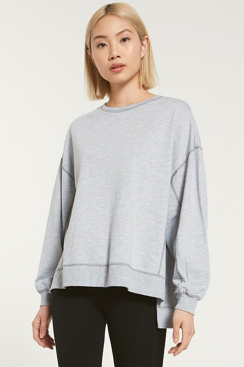 Z Supply Modern Weekender Heather Grey
