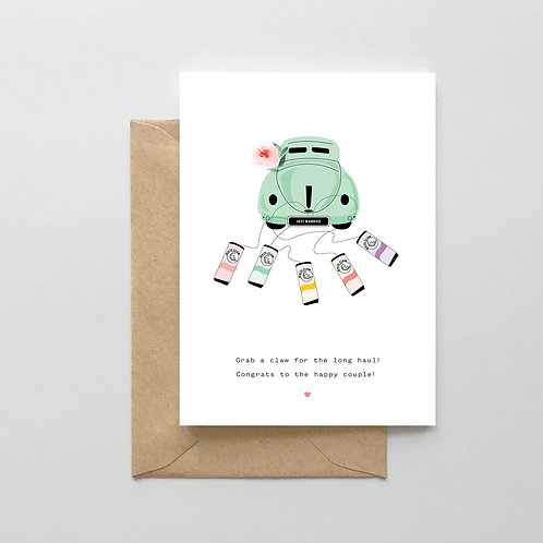 Grab a Claw for the Long Haul! Card