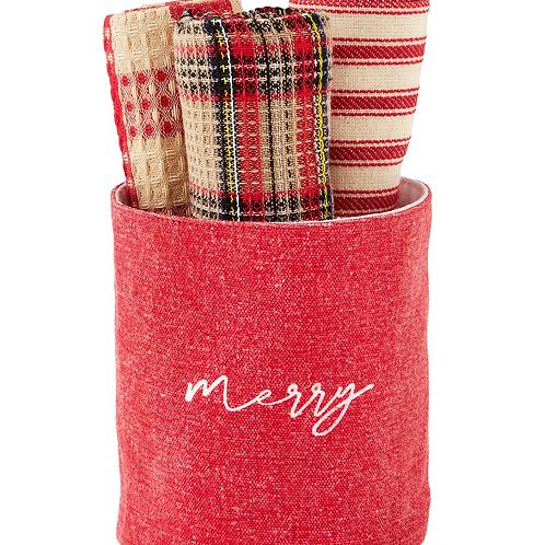 Mudpie Tartan Towel Set